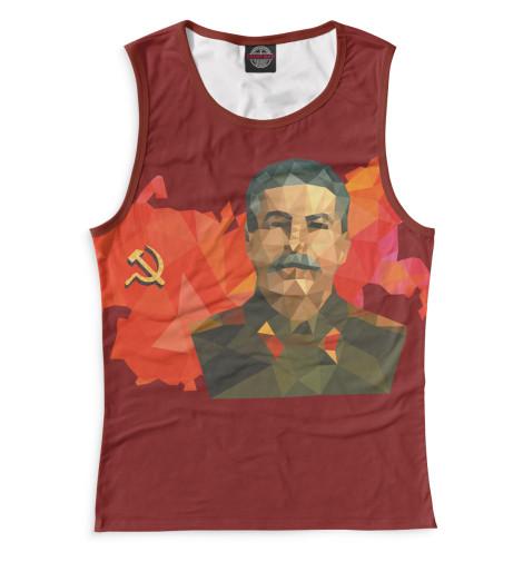 Женская майка Сталин