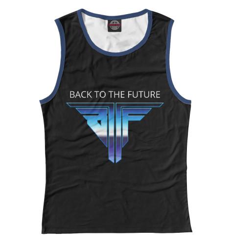 Майка Print Bar Back to the Future logo retro свитшот print bar go to valhalla with ragnar