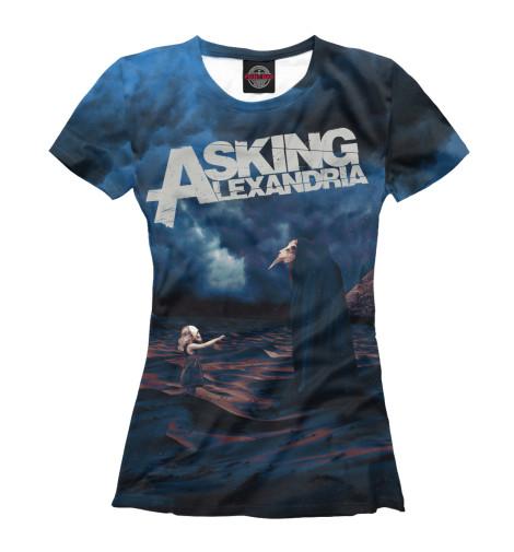 Купить Женская футболка Asking Alexandria MZK-197011-fut-1