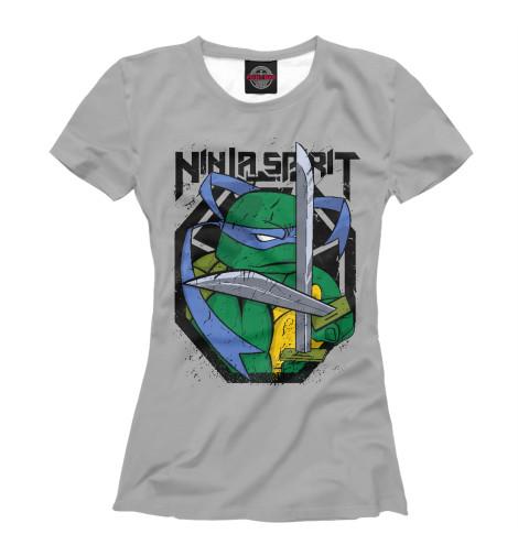 Футболка Print Bar Ninja Spirit футболка rebel spirit rebel spirit re032emspj40