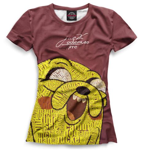 Женская футболка Джейк