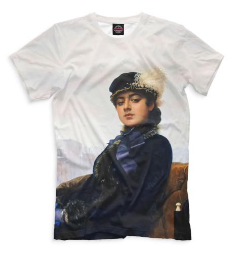 Мужская футболка Неизвестная