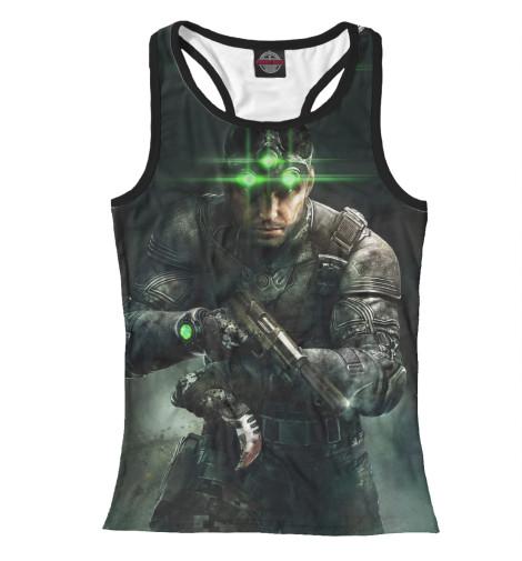 Майка борцовка Print Bar Splinter Cell: Blacklist — Сэм Фишер tom clancy s splinter cell blacklist upper echelon edition цифровая версия