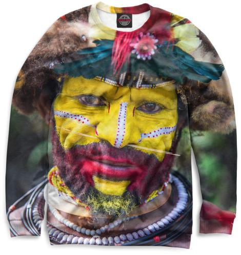 Женский свитшот Новогвинеец