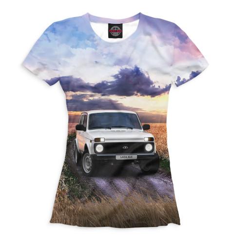 Женская футболка LADA 4x4