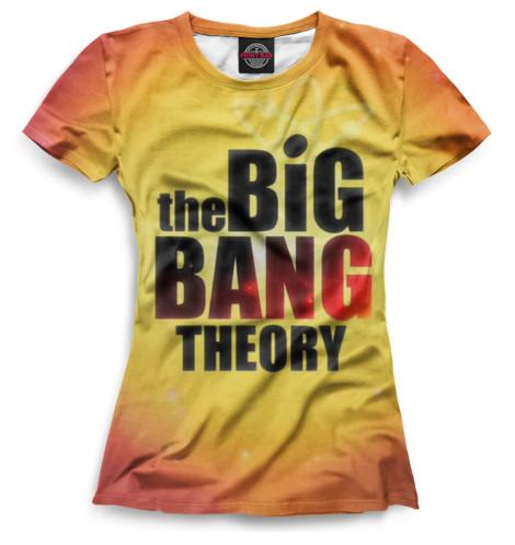 Футболка Print Bar Теория большого взрыва футболка стрэйч printio теория большого взрыва