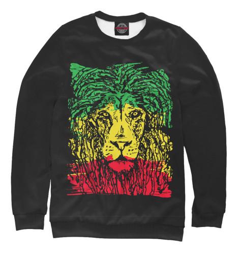 Свитшот Print Bar Rasta Lion проводные наушники marley smile jamaica rasta em je041 ra