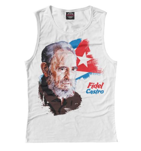 Майка Print Bar Fidel Castro the autobiography of fidel castro