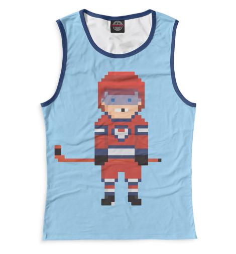 Купить Майка для девочки Хоккей HOK-552823-may-1
