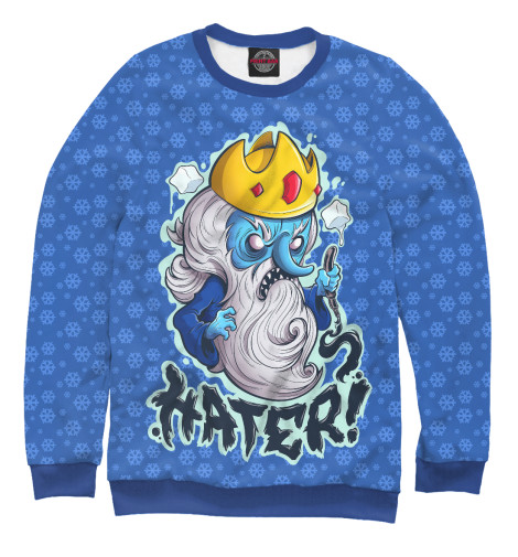 Свитшот Print Bar Ice King лонгслив printio ice king x batman