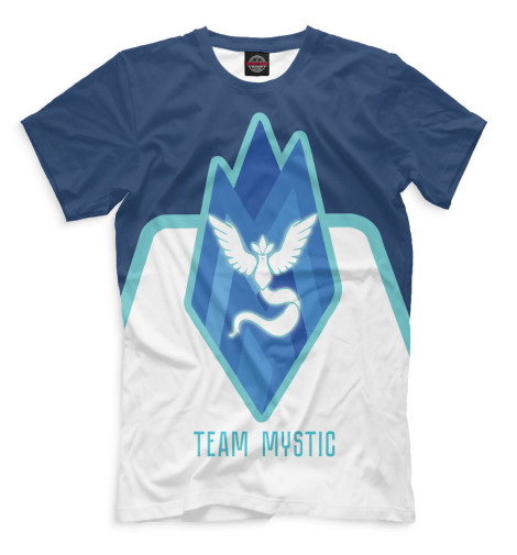 Купить Футболка для мальчиков Team Mystic PKM-128626-fut-2