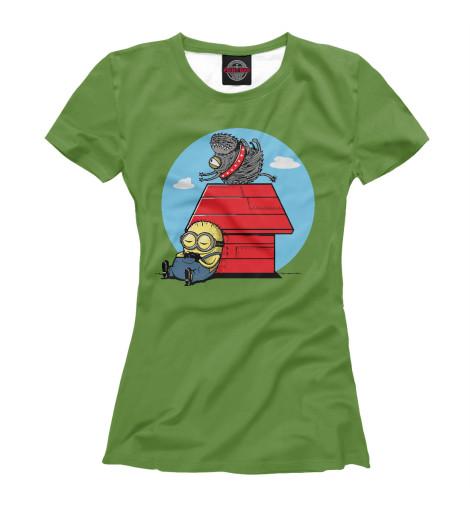 Футболка Print Bar Minion Snoopy
