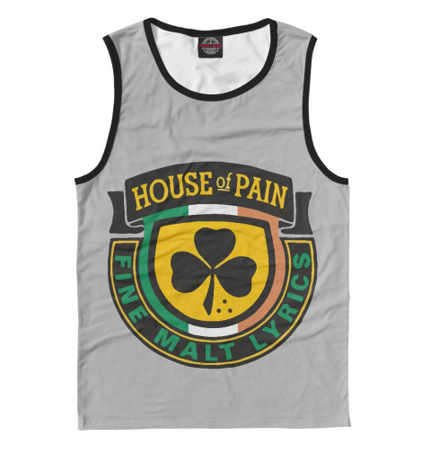 Майка Print Bar House of Pain худи print bar house of pain