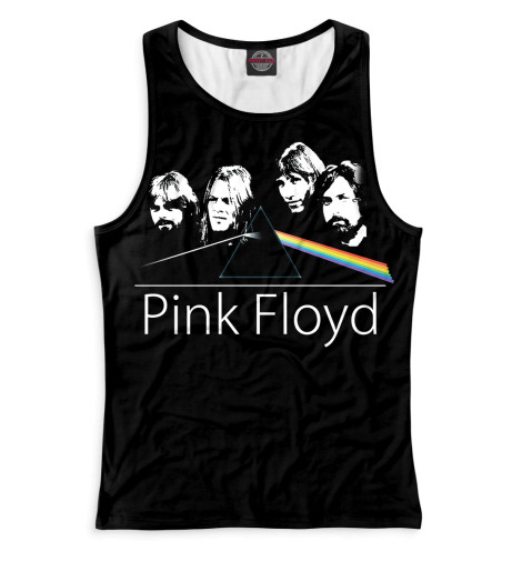 Женская майка-борцовка Pink Floyd