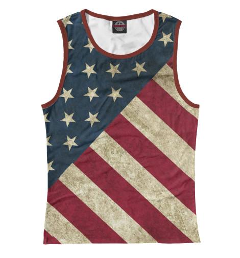 Купить Майка для девочки Флаг США CTS-744899-may-1