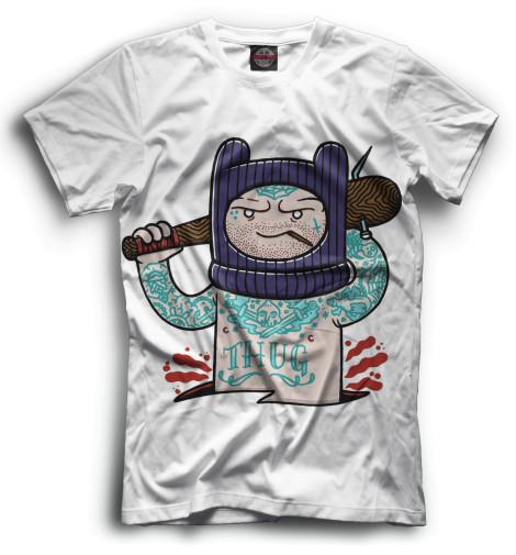 Мужская футболка Финн