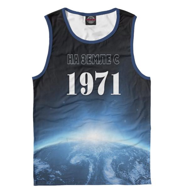 Купить Майка для мальчика На Земле с 1971 DSI-176601-may-2