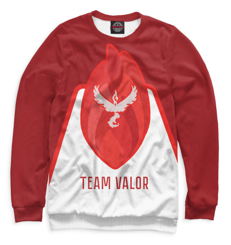 Свитшот Print Bar Team Valor футболка print bar valor pokemon team