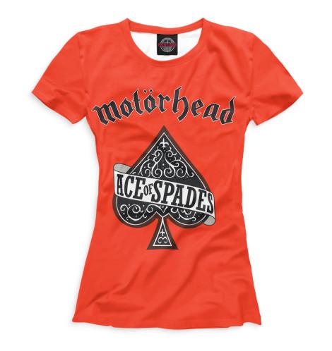 Женская футболка Motorhead