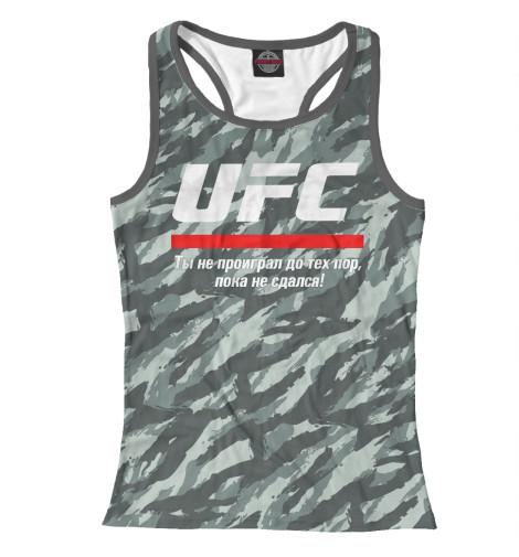 Майка борцовка Print Bar UFC комуфляж