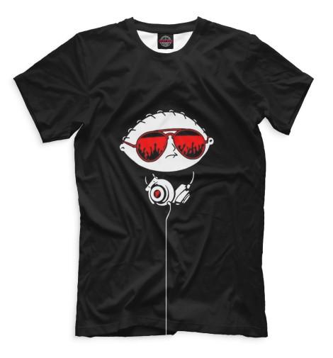 Мужская футболка DJ Стьюи