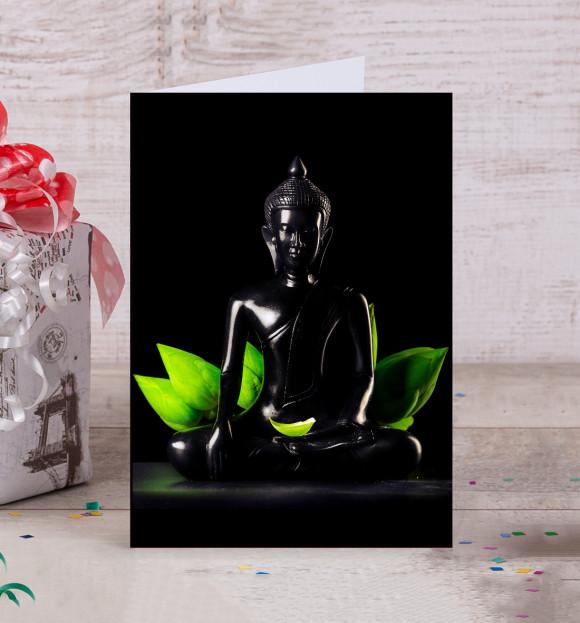Будда открытка