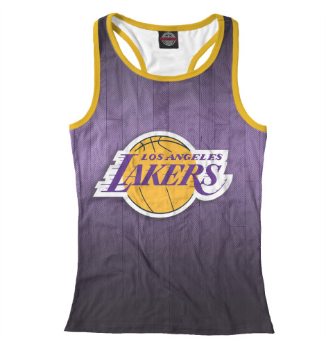 Майка борцовка Print Bar Los Angeles Lakers майка борцовка print bar los angeles