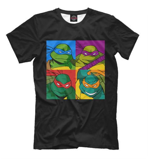 Футболка Print Bar Ninja Turtles футболка print bar brooklyn turtles