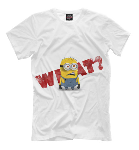 Футболка Print Bar Minion - what? футболка print bar super minion