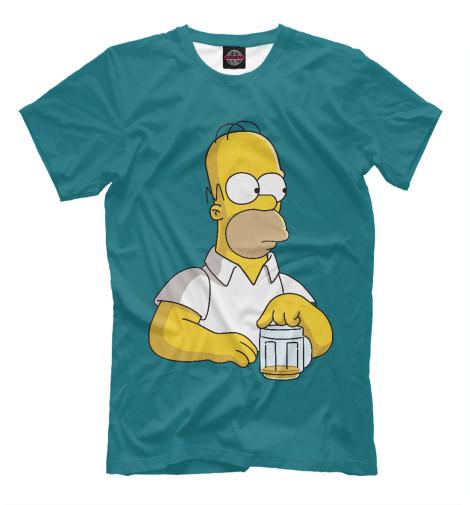 Купить Мужская футболка Homer Beer SIM-111799-fut-2