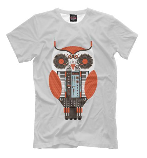 Футболка Print Bar Сова диджей футболка wearcraft premium printio сова сова