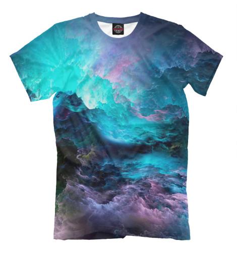 Мужская футболка Облака