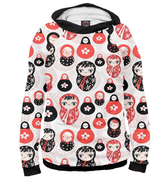 Купить Худи для девочки Матрешка SSS-730560-hud-1