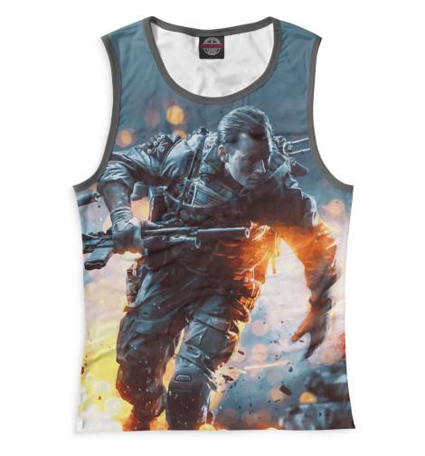 Майка Print Bar Battlefield 4 худи print bar battlefield 4 war