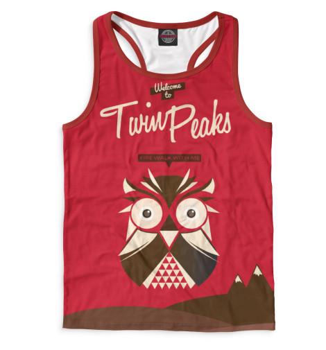 Майка борцовка Print Bar Twin Peaks майка борцовка print bar damn good twin peaks