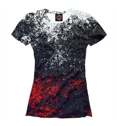 Купить Женская футболка Брызги красок APD-232725-fut-1