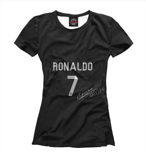 Футболка Print Bar Автограф Роналду