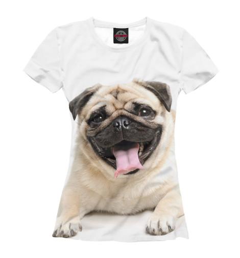 Футболка Print Bar Мопс футболка print bar собака мопс