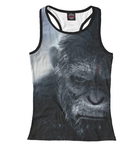 Майка борцовка Print Bar Планета обезьян: Революция свитшот print bar война планеты обезьян