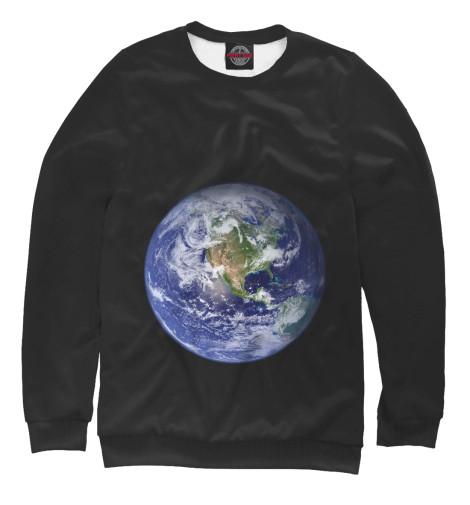 Свитшот Print Bar Планета Земля бриз дневник школьный планета земля
