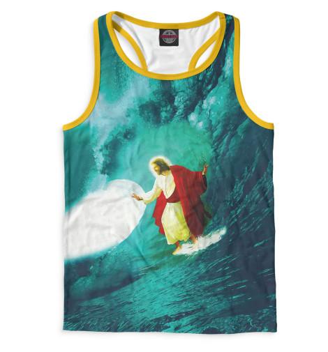 Майка борцовка Print Bar Иисус-серфер рюкзаки кенгуру globex грандер