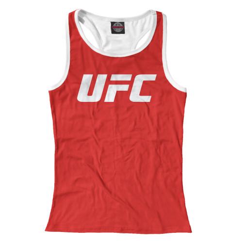 Майка борцовка Print Bar UFC Logo майка борцовка print bar ufc logo
