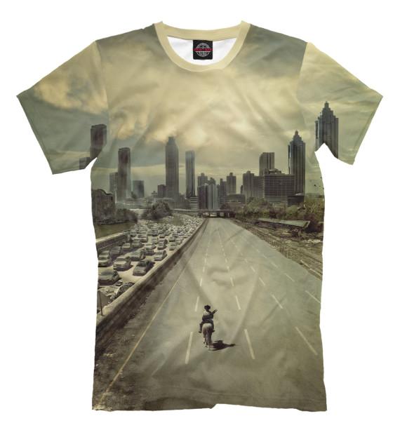 Купить Мужская футболка Ходячие мертвецы HOD-772280-fut-2