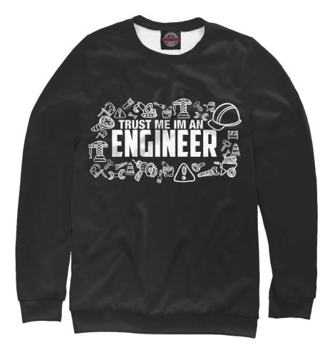 Купить Свитшот для девочек Trust me I am an Engineer SRL-632152-swi-1