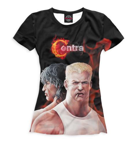 Женская футболка Contra