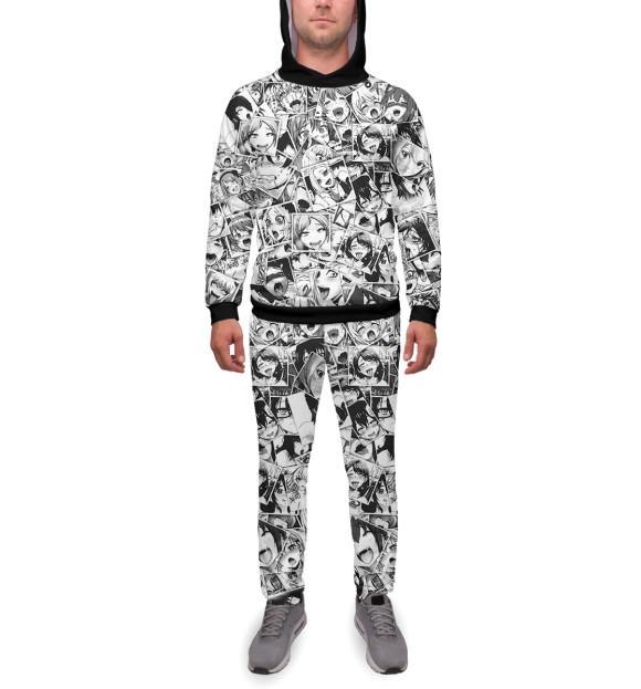 925ba80b4c75 Мужской спортивный костюм Ahegao ANR-471271-kmp-2 - купить в Print Bar