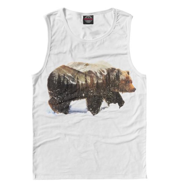 Купить Майка для мальчика Медведь MED-951322-may-2