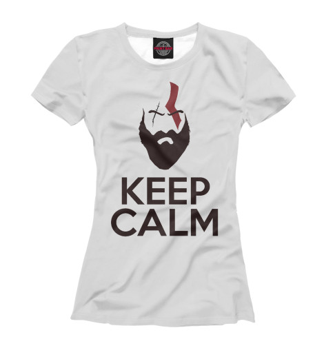 Футболка Print Bar Keep Calm and Kill God's футболка wearcraft premium printio keep calm art