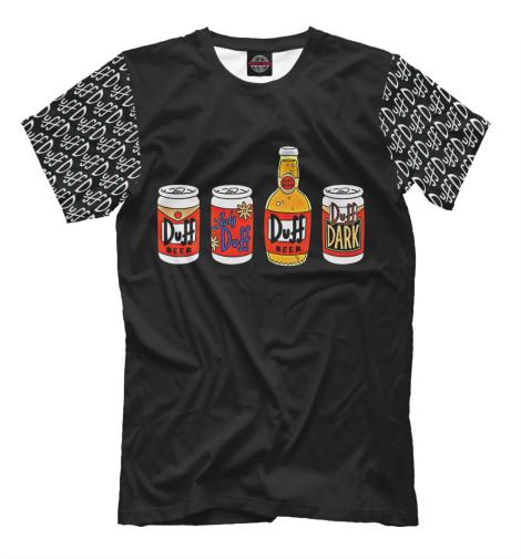 Футболка Print Bar Duff Beer футболка print bar duff beer