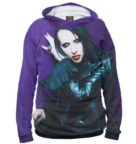 Худи Print Bar Marilyn Manson худи print bar трансформеры 5 последний рыцарь